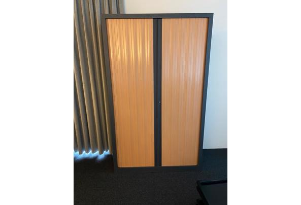 Kantoorkasten met roldeuren 199x120x43 - IMG_4579