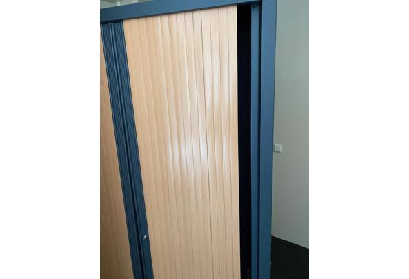 Kantoorkasten met roldeuren 199x120x43 - IMG_4581