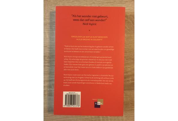 Boek 'Niet te stoppen' van Nick Vujicic - IMG_1400.JPG
