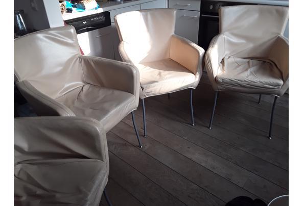4 leren eetkamer stoelen  - 20210303_154432_001