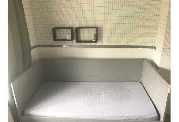 Mooi houten bed  met lade incl bedbodem en matras - AC3C7CCA-5C03-423A-8EF4-05F1064C3403