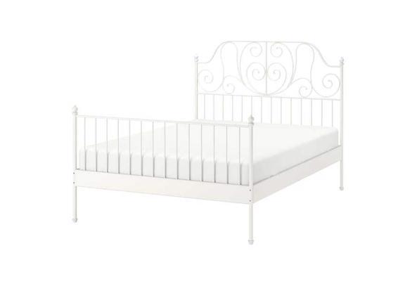 Leirvik IKEA bed - leirvik-bed-frame-white-luroey__0637552_pe704561_s5