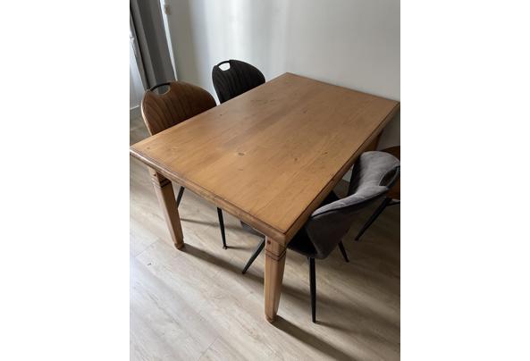 Mooie tafel voor 4-6 personen - 7A56097A-60B0-4673-8606-C13D1D5EEA50