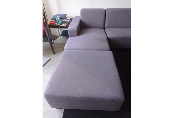 Hoekbank (2 losse onderdelen)  met stoel en hocker - IMG_20210426_093805