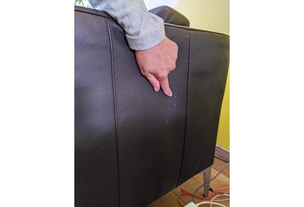 Landskrona bank en fauteuil ikea donker bruin - 9494E9B3-8183-47AA-9A9A-115F9914FFE0