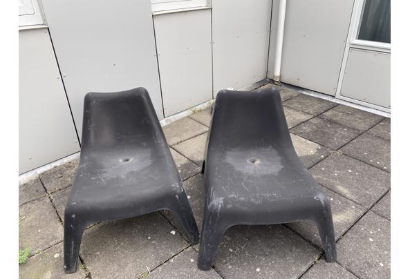 IKEA PS zwarte tuin stoeltjes  - 212C2DEF-D786-41C2-8D26-168C6AE7F541