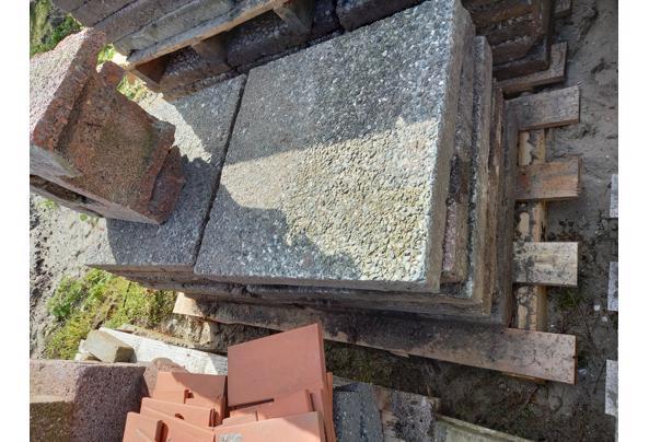 Grindtegels 50x 50 cm - vierkant-grind