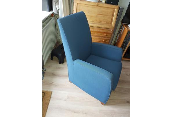 Twee heerlijke goede blauwe stoelen - 20210321_124623