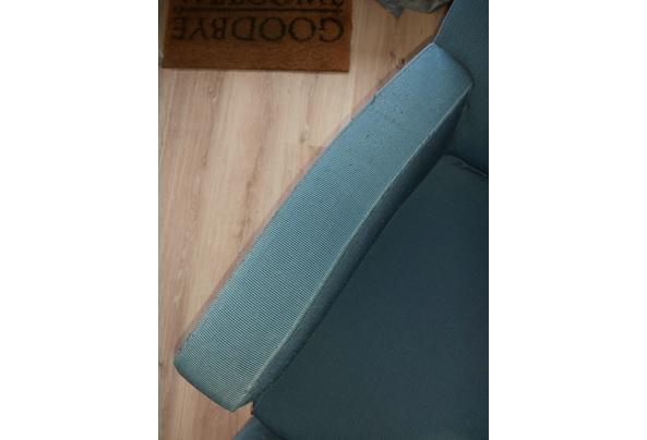 Twee heerlijke goede blauwe stoelen - 20210321_124633