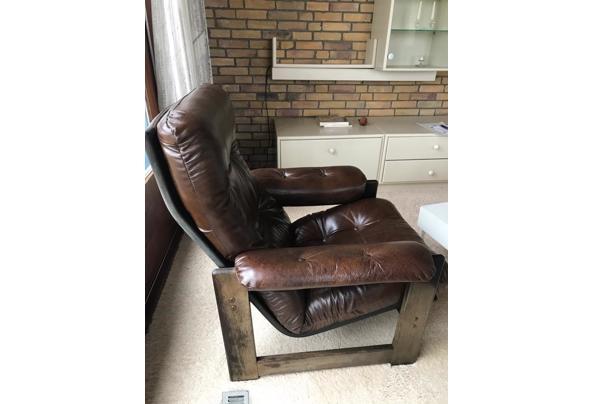 Leren fauteuils stoelen 2 stuks - 8EAF9014-2E46-4E18-8245-8DD58433C2EE.jpeg