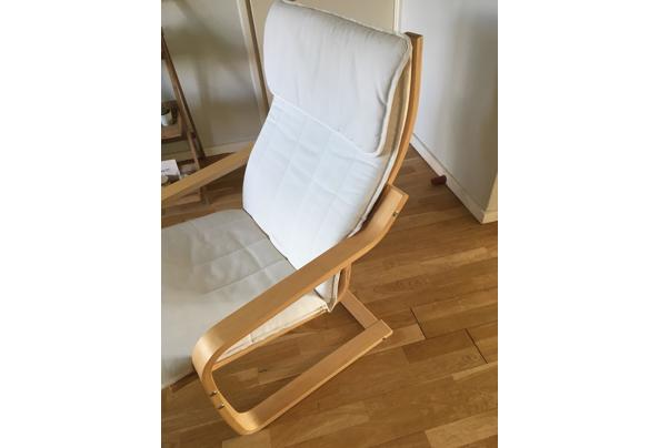 2 Ikea stoelen in ecru - 70402D38-FD7E-4A7F-A573-7A69D1C96CCD