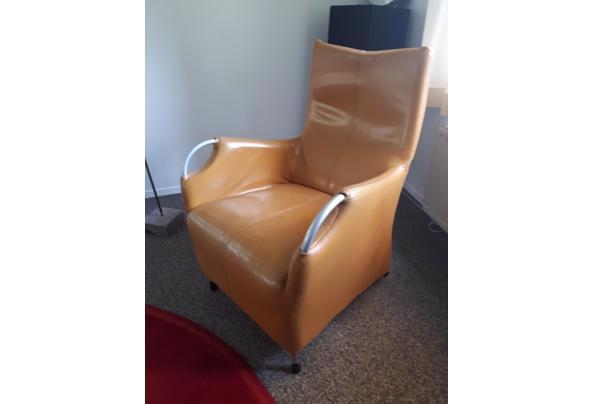 Fijne moderne bank en 2 fauteuils  - 16208126890812095019190976523552