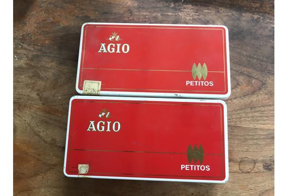 2 leuke blikken sigarendozen - B5AC9416-D2D6-4630-AB1A-BBC7CF93B6E0
