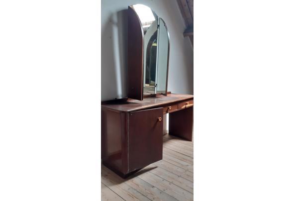 Kaptafel met driedelige spiegel jaren 40 - 20210712_134156