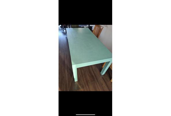 Houten (eetkamer) tafel - 0A95DE66-6BD3-48BB-8AB0-D4AECE18B655