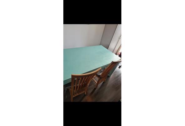 Houten (eetkamer) tafel - 258E6857-EC02-4386-9B48-EA930A60166C