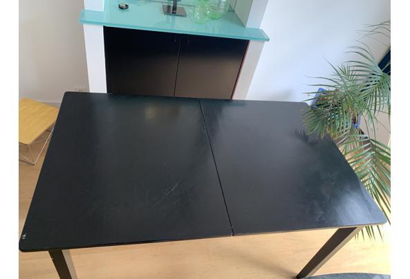 Fijne zwarte tafel, 150x90 cm - 4E9D0735-07E6-464A-BB7B-19E801B6B5E5