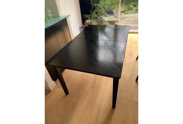 Fijne zwarte tafel, 150x90 cm - C4FC0C68-43F2-48ED-B658-E4DFE51504A8