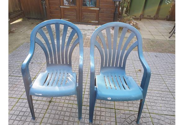2 tuinstoelen - stoelen