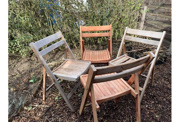 Vier houten inklapbare stoelen - 0C2E9992-0742-40C5-B5C1-31F7BEEB0805.jpeg