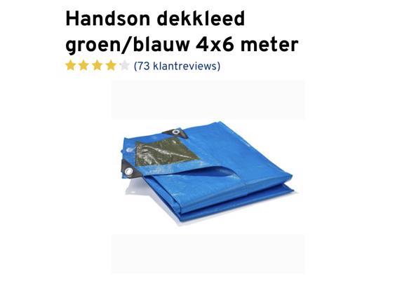 Dekzeil 4x6 meter blauw/groen - 46EC66E2-6A56-42CF-8DB4-3591CED7180B_637543422181021849