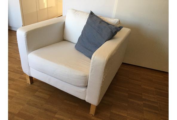 Ikea Karlstad fauteuil wit - IMG_5350.jpeg