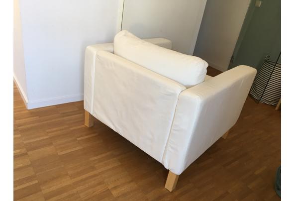 Ikea Karlstad fauteuil wit - IMG_5354.jpeg