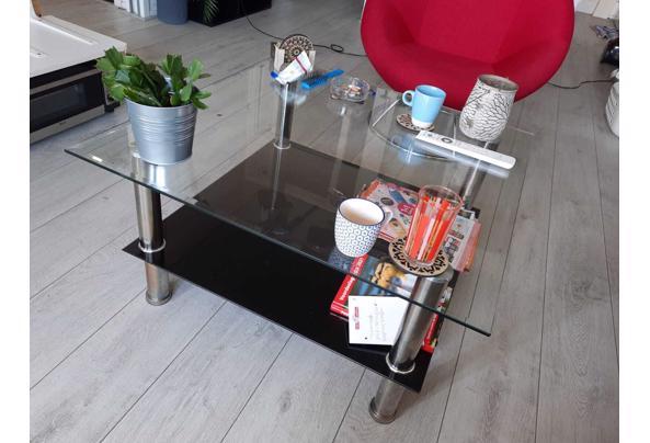Vierkante glazen salontafel, 80x80cm - IMG-20210421-WA0016