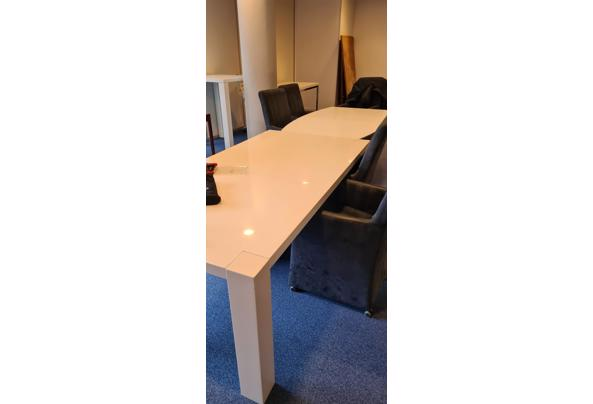 (eet)tafel, wit, hoogglans - 20210408_102246