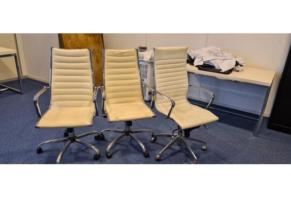 bureaustoelen, wit - 20210408_102346