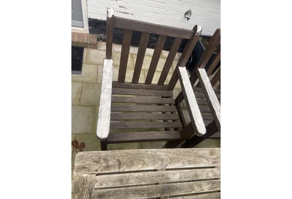 2 Hardhouten tuin stoelen - B50244FF-B0A3-4A7C-9624-FB715C46470D