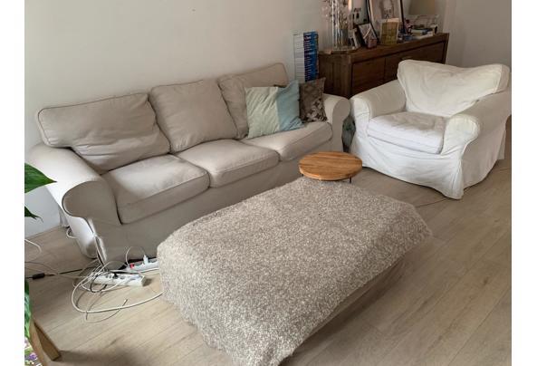 Bank + stoel (ektrop Ikea) + hocker - 10BA8995-D78A-4C81-A3F3-52F07514288F.jpeg