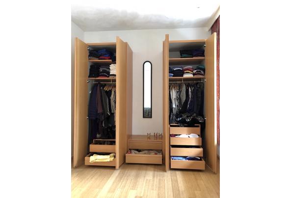 Solide houten kledingkast 3 delen - IMG_8136