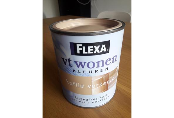 Flexa zijdeglansverf koffie verkeerd - 20210405_113806