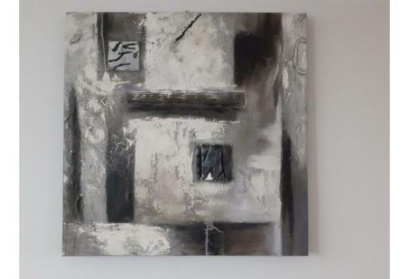 Canvas schilderij 80x80 - $_84