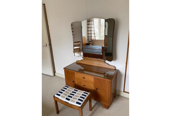 Kaptafel met spiegel - Kaptafel-met-spiegel
