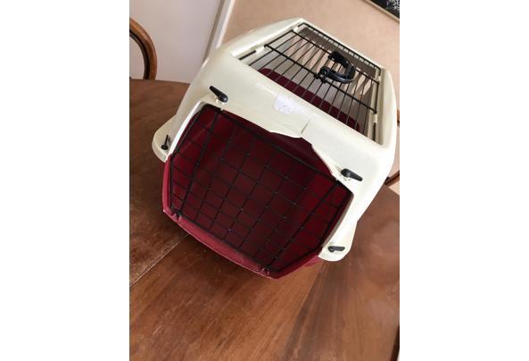kattenkooi voor vervoer van katten - 8DB625CC-988A-4278-89DC-EE9AC6D68C80_637590255684107930
