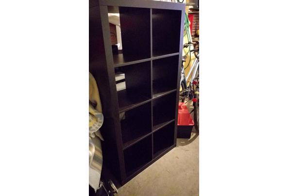 Kallax Ikea opbergkast 147x77 cm  - Ikea-kast