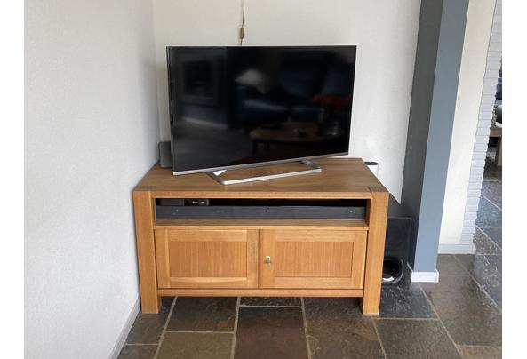 Blank eiken tv kast - 0B9B9B73-6EAD-4ACD-B944-27452E9248CD