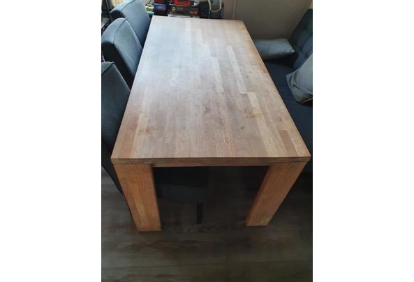 Ruime houten eettafel 180x90cm - Tafel-1