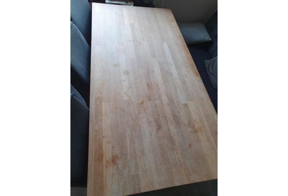Ruime houten eettafel 180x90cm - Tafel-2