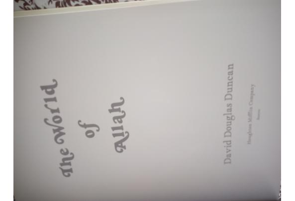 Fotoboek The World of Allah by David Douglas Duncan - World-of-Allah-binnentekst_637603979167961514