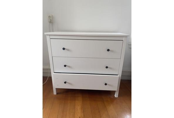 Witte ladekast Ikea - D6B63722-2EDD-4E4E-B1DC-1F097A5C97CE
