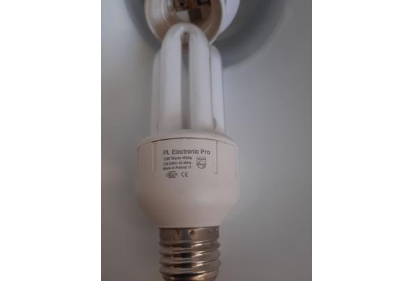 Zwarte metalen hanglamp - 20210423_144345