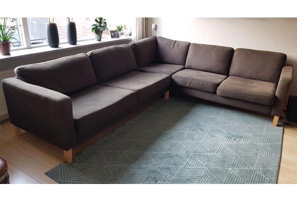 Ikea Hoekbank donkerbruin  - 16147021836641026632706346204519