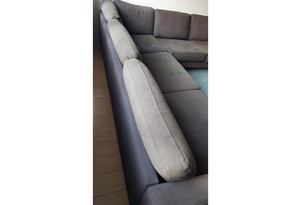Ikea Hoekbank donkerbruin  - 16147022987354302313183805241659