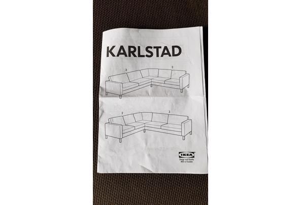 Ikea Hoekbank donkerbruin  - 16147023255257205211591151706383