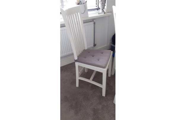 Eetkamer stoelen 6x - 16173665864854125930499432494167