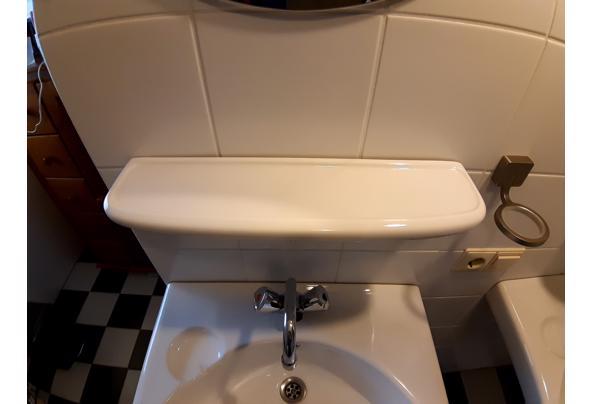2 wastafels, planchets, spiegels, kranen - 20210307_081242