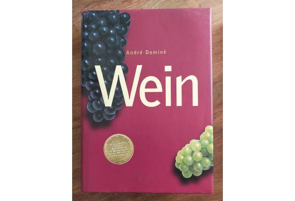 Wein - boek over wijn in het Duits - Wein-Boek